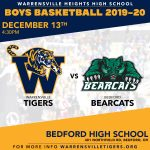 The Battle of Northfield TONIGHT! 6pm Tip-Off (No Freshman Game)