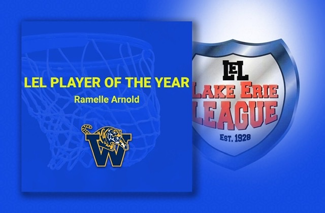 Ramelle Arnold named LEL Co-Player of the Year!
