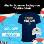 20% off Tiger Gear in July!