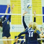 Petoskey grinds out BNC win over Gaylord in four sets