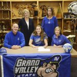 Petoskey's Kartes signs to continue volleyball career with GVSU