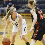 Petoskey girls get hot in second half, down Cheboygan 44-27