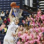 Big night a slam dunk for Northmen, hand Blue Devils a 63-39 loss