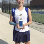 PHS tennis challenged in tourney, Harris earns flight runner-up