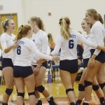 Petoskey earns third straight home volleyball invite title