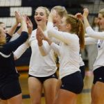 Petoskey volleyball gets through hot and cold win over Gaylord