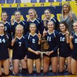 Petoskey volleyball claims district title with dominant day of matches