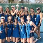 Petoskey tennis claims Up North Invite overall win, edge Trojans
