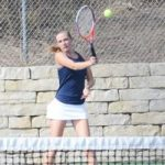 Petoskey tennis competes in Twin Bay Quad, Harris earns title