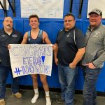 Petoskey's Eero Gross hits win No. 100 at Plymouth Salem