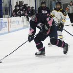 Petoskey completes season sweep over Gaylord on cancer awareness night