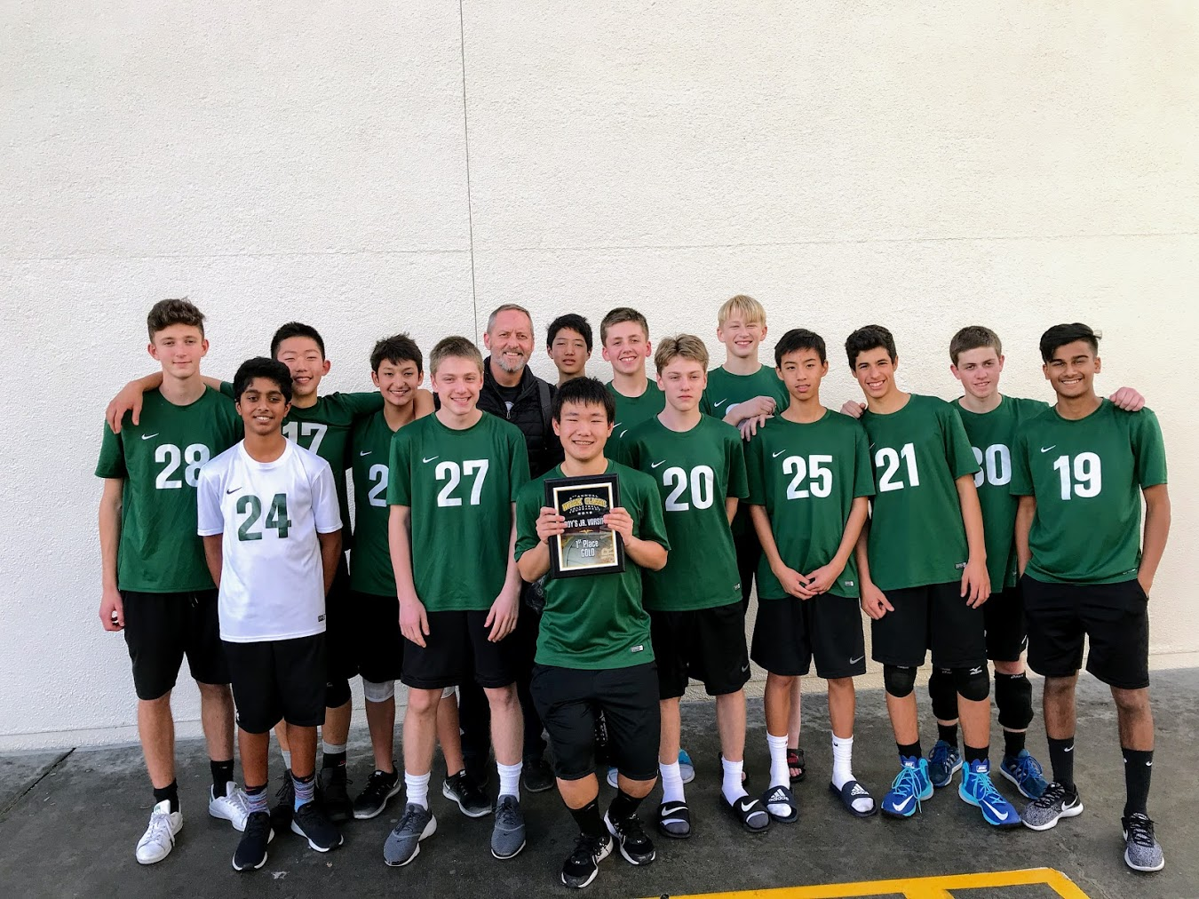 F/S Boys Volleyball Takes First Place!