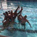 Boys Varsity Water Polo beats Palo Alto 10 – 9 in OT