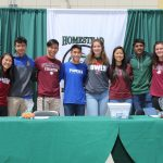 Homestead's Athletic College Signing Day ~ 5.22.19