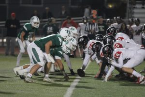 Varsity football vs Gunn 11/08/19
