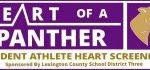 """Heart of a Panther"" campaign to help provide Cardiac Screening for District 3 Athletes"