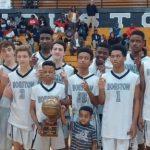 Freshmen Boys Win District Championship