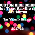 17 Houston High Athletes Earn 1st Team All-State & All-Metro Honors