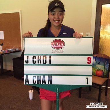 Jayna Choi Wins National American Junior Golf Association Tournament