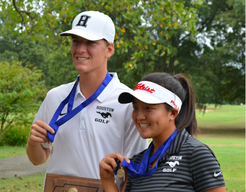 King Grisanti and Jayna Choi Earn Top Scores In District Golf Tournament