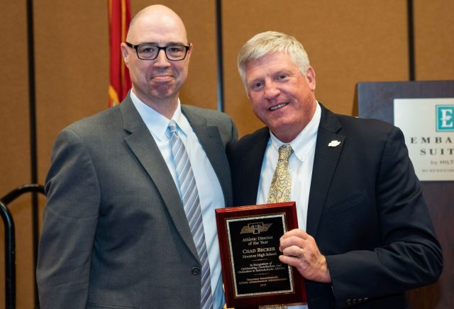 Chad Becker Named 2019 Tennessee Athletic Director of The Year