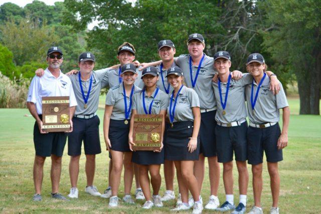 Boys Golf Wins 19th Consecutive Region Championship; Girls Win 6th Straight