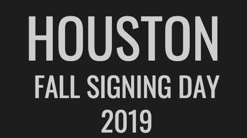 Houston Athletics Celebrates 2019 Fall Signing Period
