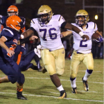 Purples dominate Grayson County 61-0