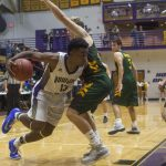 Purples defeat Greenwood 66-59
