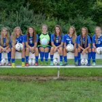 Girls Soccer Senior Night 9/22