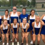 Brown County High School Girls Varsity Tennis beat Edgewood High School 4-1