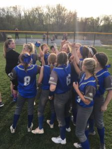 BC Varsity Softball Run Rules Edgewood 12-2 in Six Innings to Become WIC-East Champs