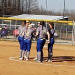 Eagles Softball Defeats Scottsburg 8-1 in Season Opener