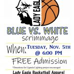 Girls Basketball Blue/White Scrimmage