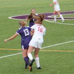 Spring Lake High School Girls Varsity Soccer ties Caledonia High School 1-1