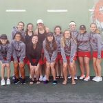 Spring Lake High School Girls Varsity Tennis finishes 4th place