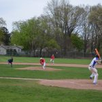 Spring Lake High School Varsity Baseball falls to Sparta High School 8-3