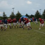 Football Scrimmage vs Unity and Chippewa Hills