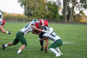 Boys Varsity Football vs West Catholic (Photos by Sam Negen)