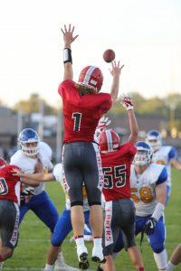 Boys Varsity Football vs Catholic Central. (Photos by Sam Negen and Glenda Anderson)