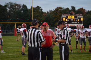 Boys Varsity Football vs Allendale