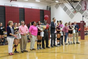 Senior Night for GVB