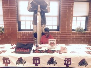 Titiana signs with U of Georgia- GO DAWGS