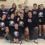 Shaler Area High School Boys Varsity Wrestling beat North Hills Senior High School 37-36