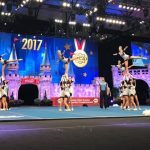 Cheerleaders win gold medal in World Competition and 2nd in National Competition