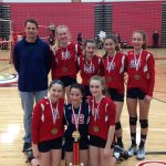 JH Girls Volleyball Goes Undefeated in Regular Season Matches
