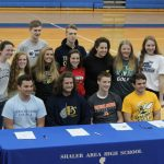 13 SIGN LETTERS TO PLAY COLLEGE ATHLETICS