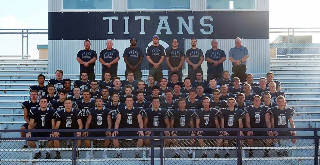 5 Titan Football Players Named to All Section Teams