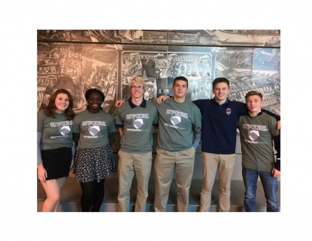 Shaler Area Athletes Attend WPIAL Sportsmanship Summit At Heinz History Center