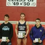 TWO WRESTLERS WIN SECTIONAL TITLES